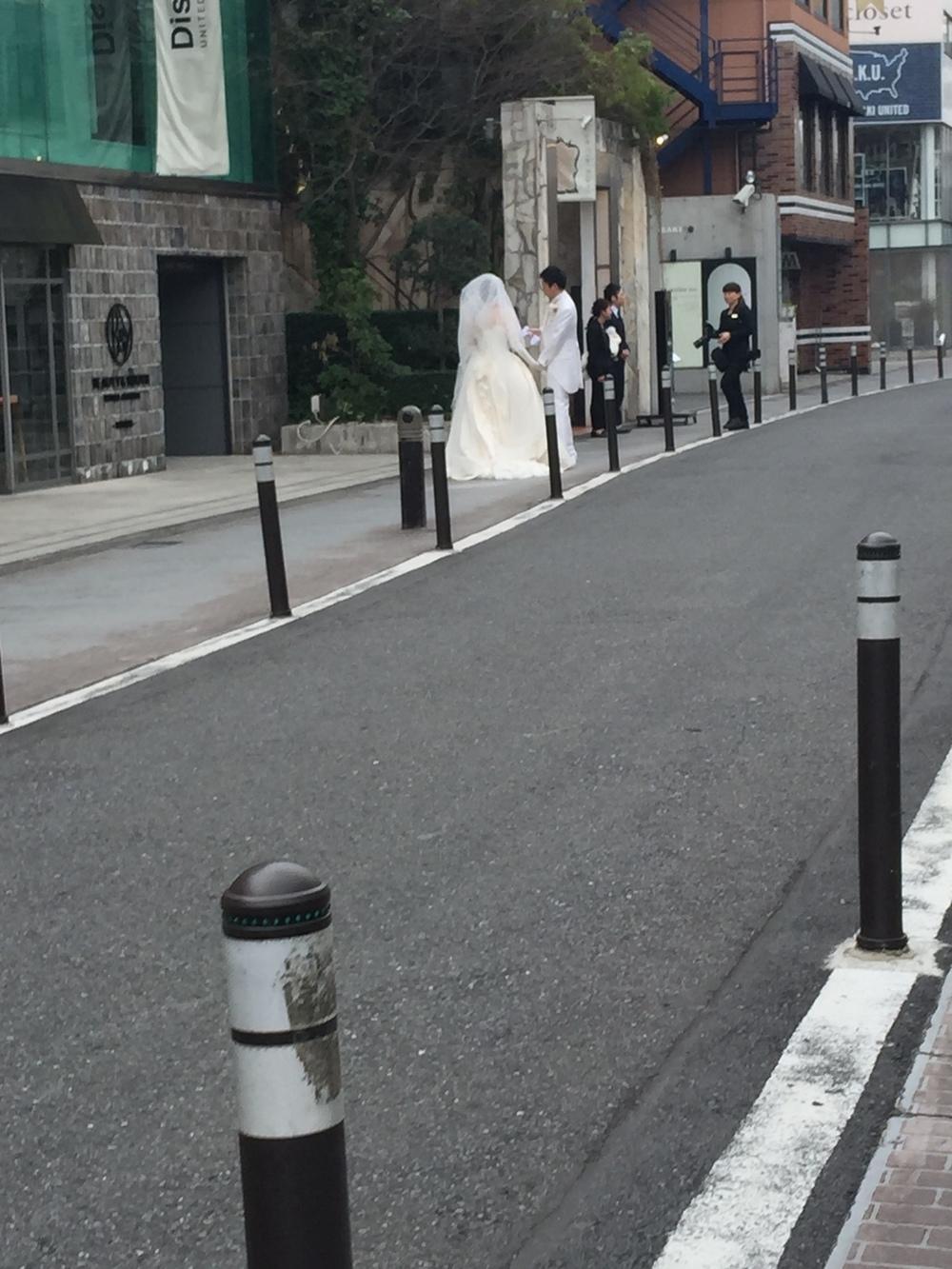 Men brudeparet skilte seg jo litt ut, da :)