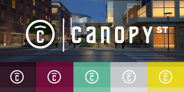 Canopy Street Logo and Color Palette