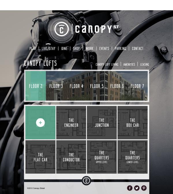 Canopy Street Website - www.canopyst.com