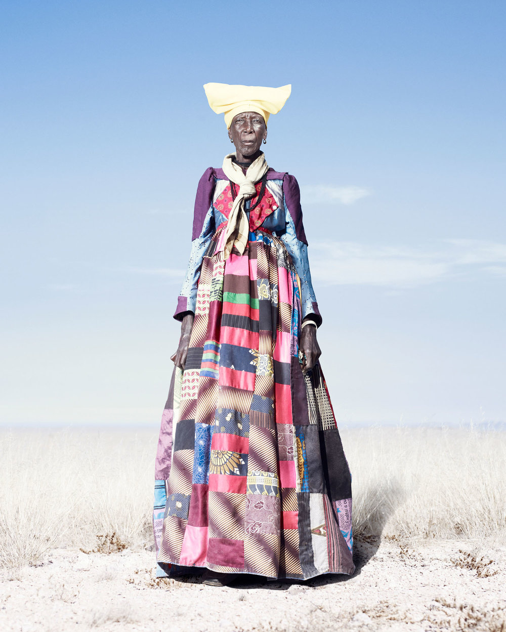 Herero Woman In Patchwork Dress (2012)
