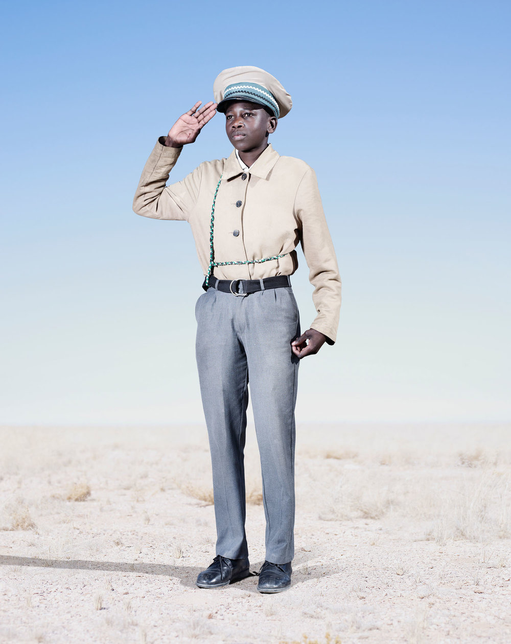 Herero Cadet Saluting (2012)