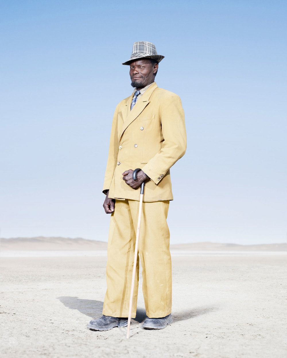 Herero Man In Yellow Suit (2012)