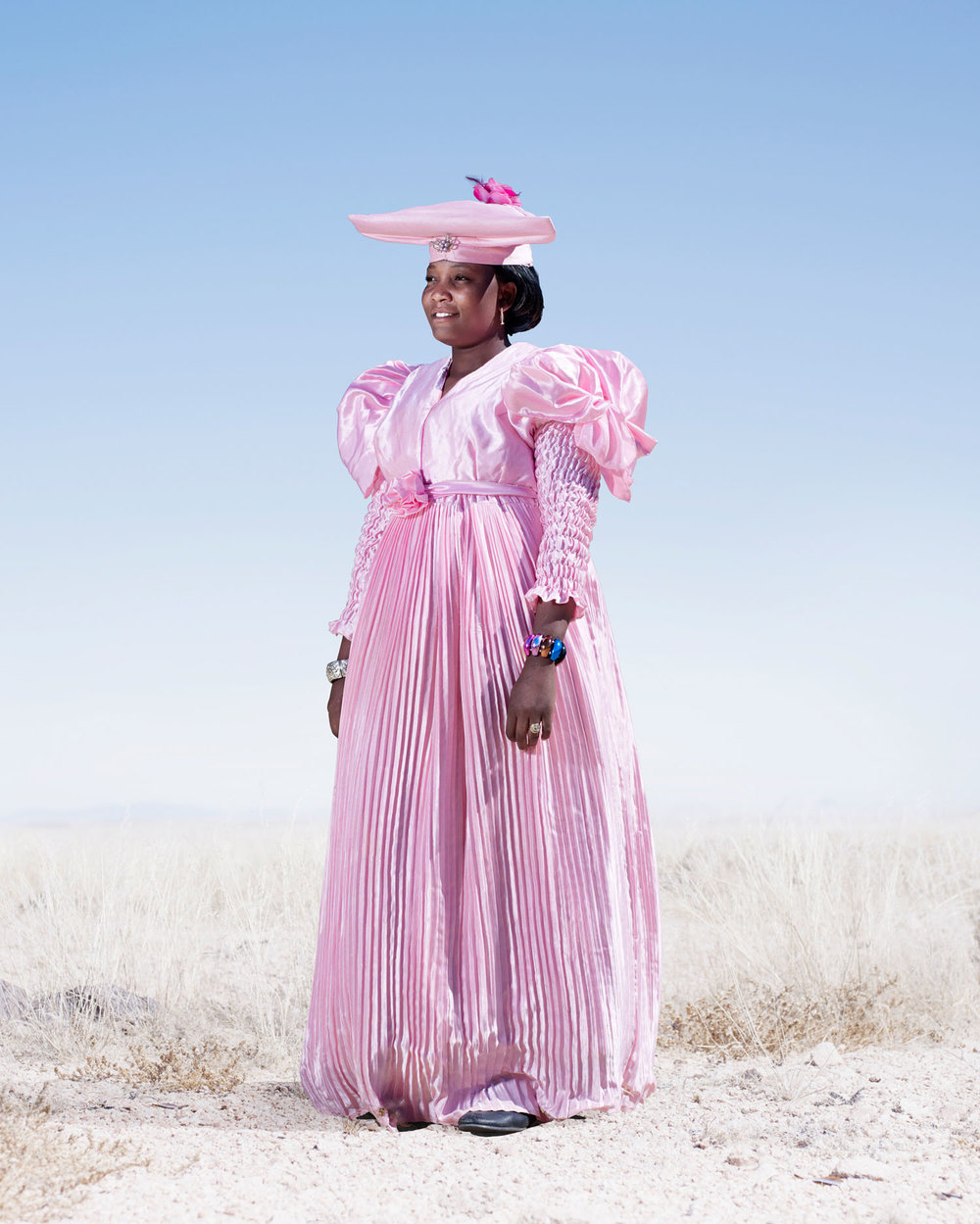 Herero Woman In Pink Dress (2012)