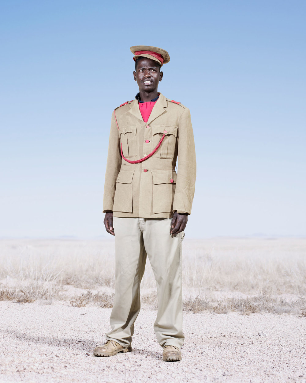 Herero Soldier In Khaki (2012)