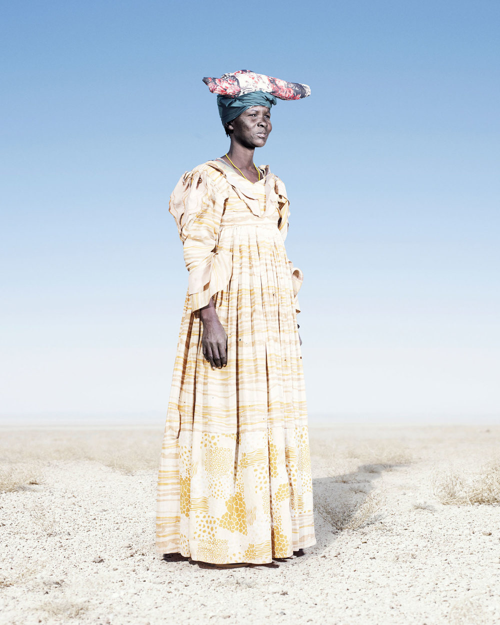 Herero Woman In Yellow Dress (2012)