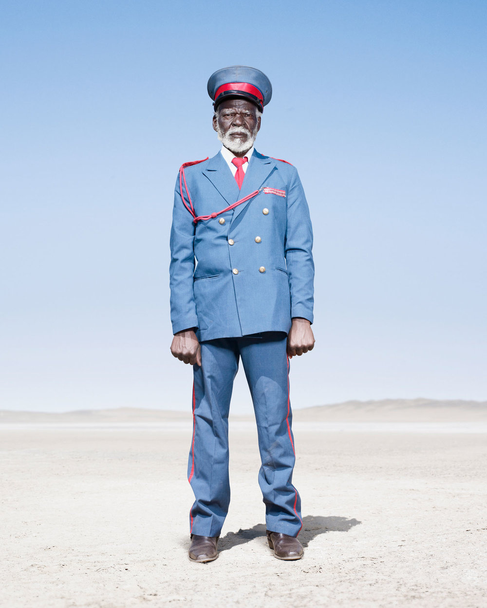 Herero Soldier In Blue Uniform (2012)
