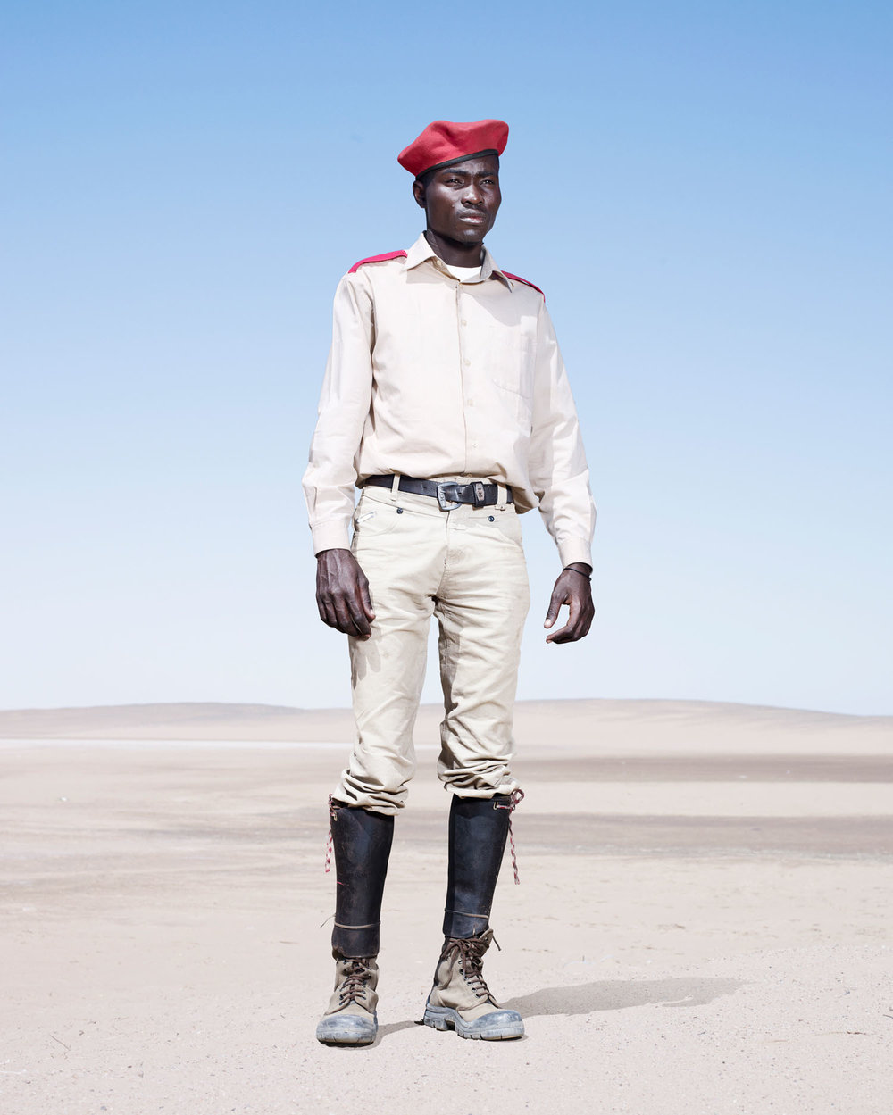 Herero Soldier In Red Beret (2012)