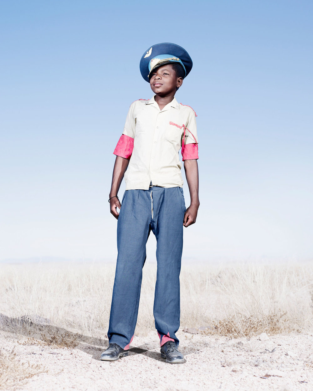 Herero Cadet In Blue Hat (2012)