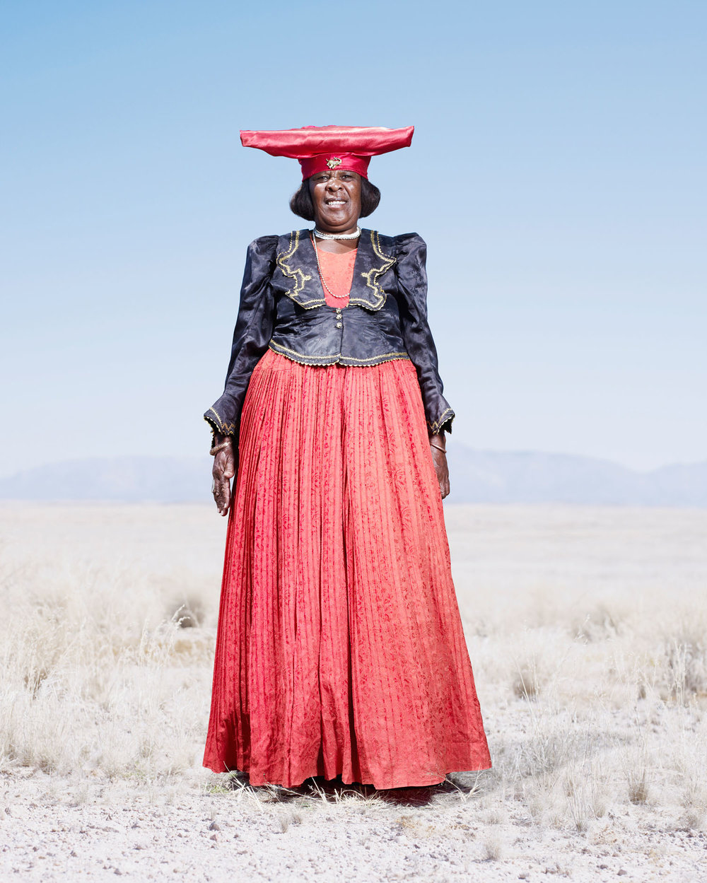 Herero Woman In Red Dress (2012)
