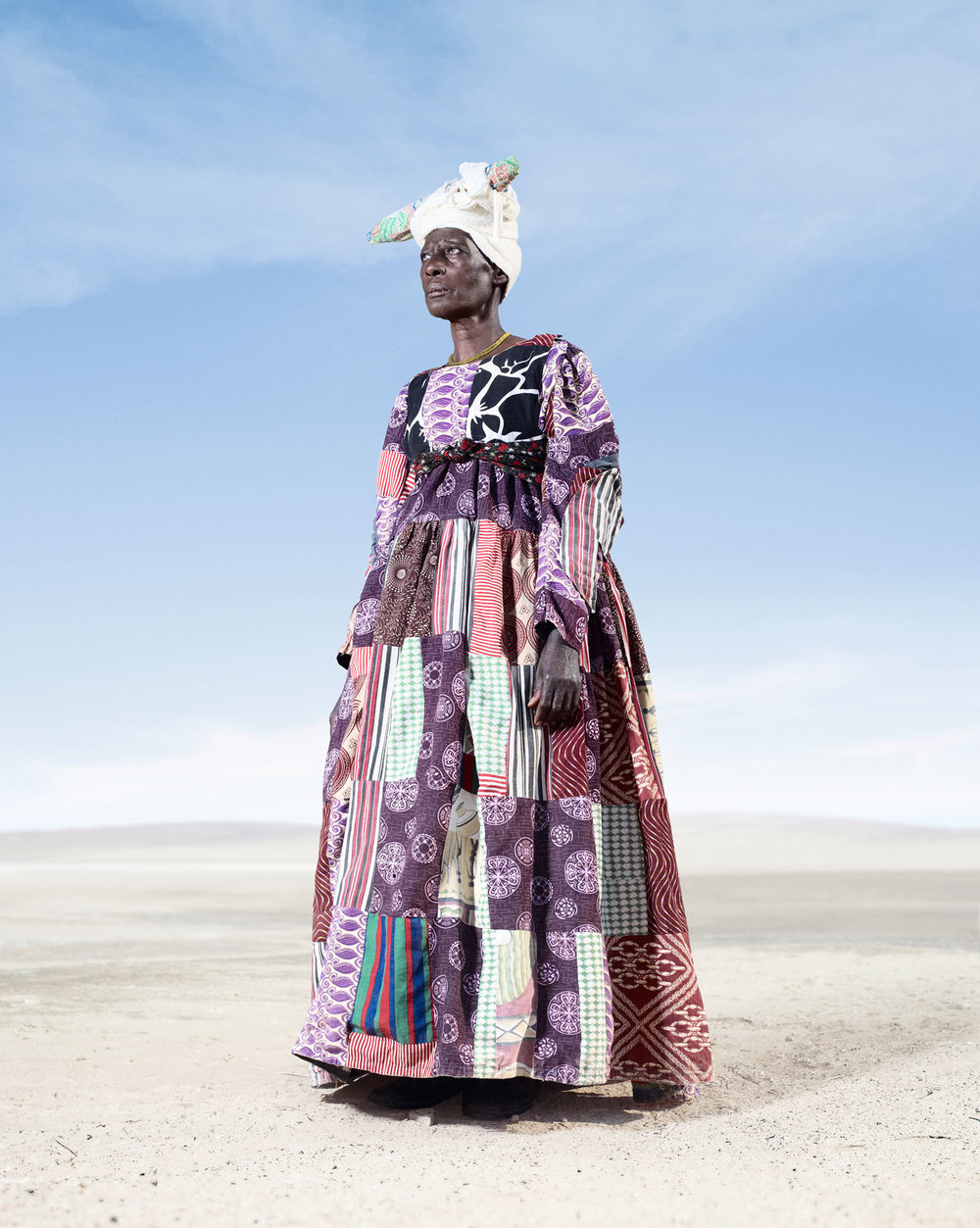 Herero Woman In Patchwork Dress 2 (2012)