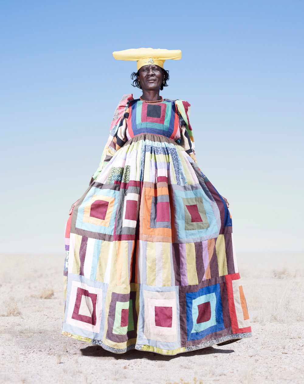 Herero Woman In Pattern Dress (2012)