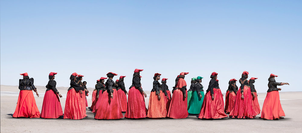 Herero Women Marching (2012)