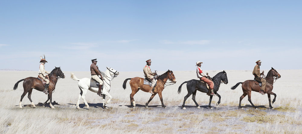 Herero Cavalrymen Marching (2012)