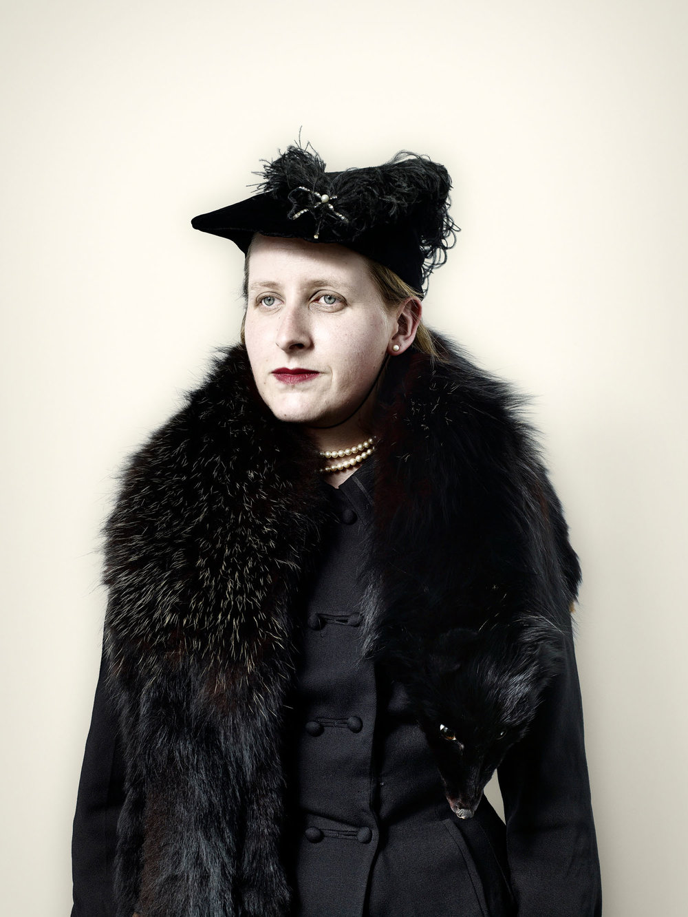 Civilian with Black Fox Fur (2008)