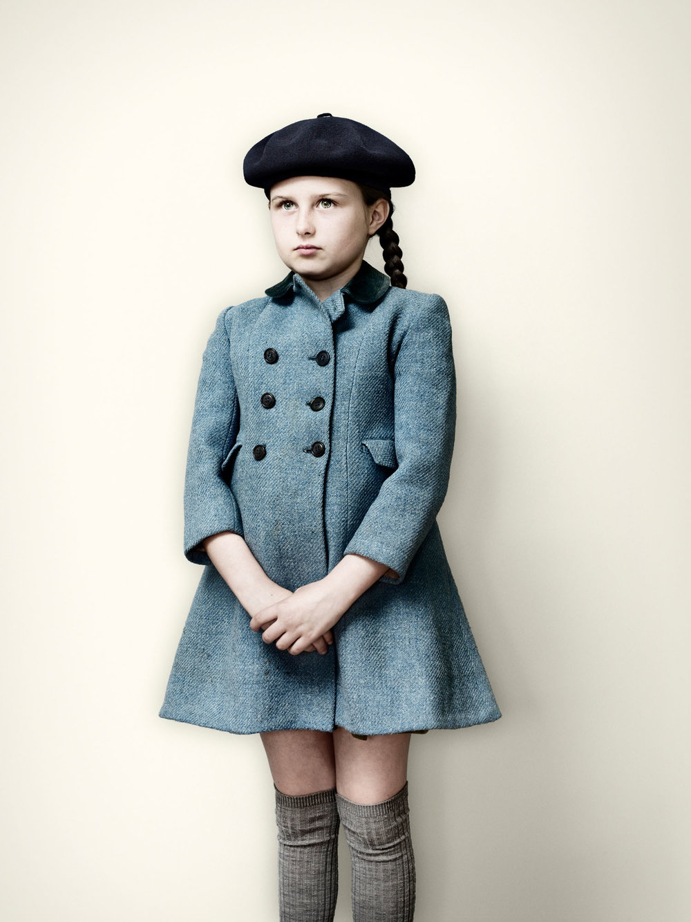 Evacuee Girl in Blue Coat (2008)