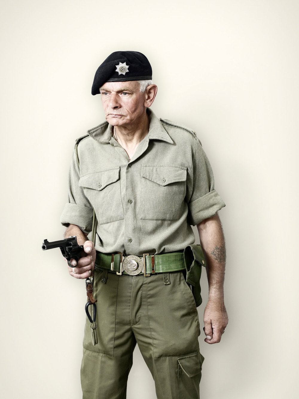Post-War British Tank Crewman (2008)