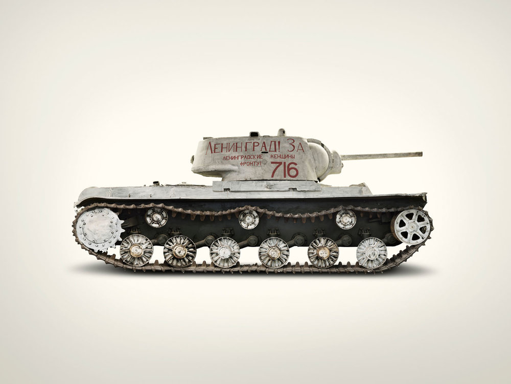 Russian Tank Heavy KV1B, (2009)