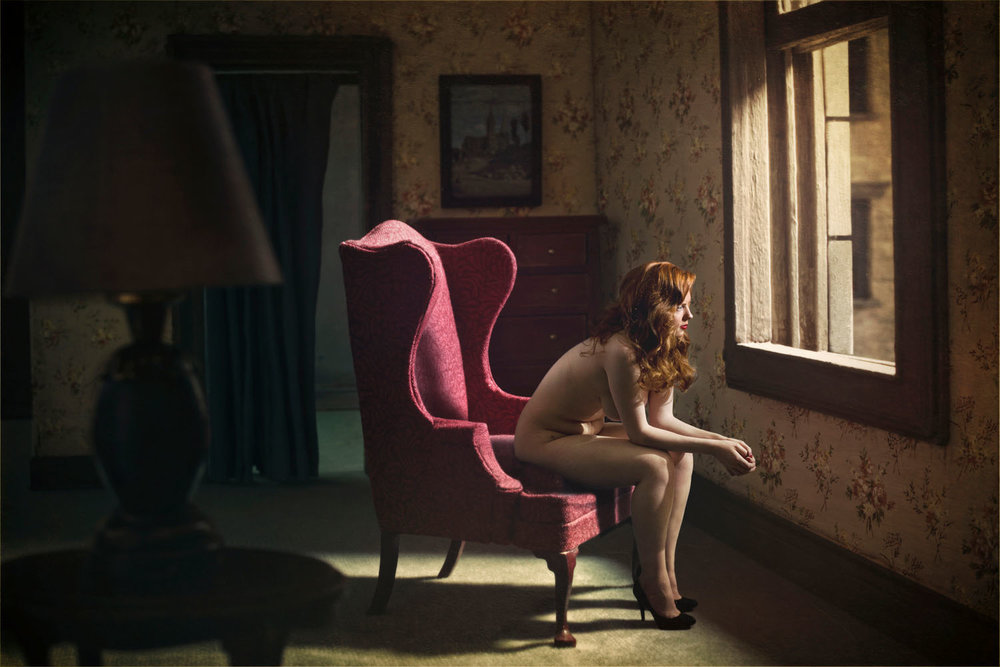 Woman At A Window, (2012)
