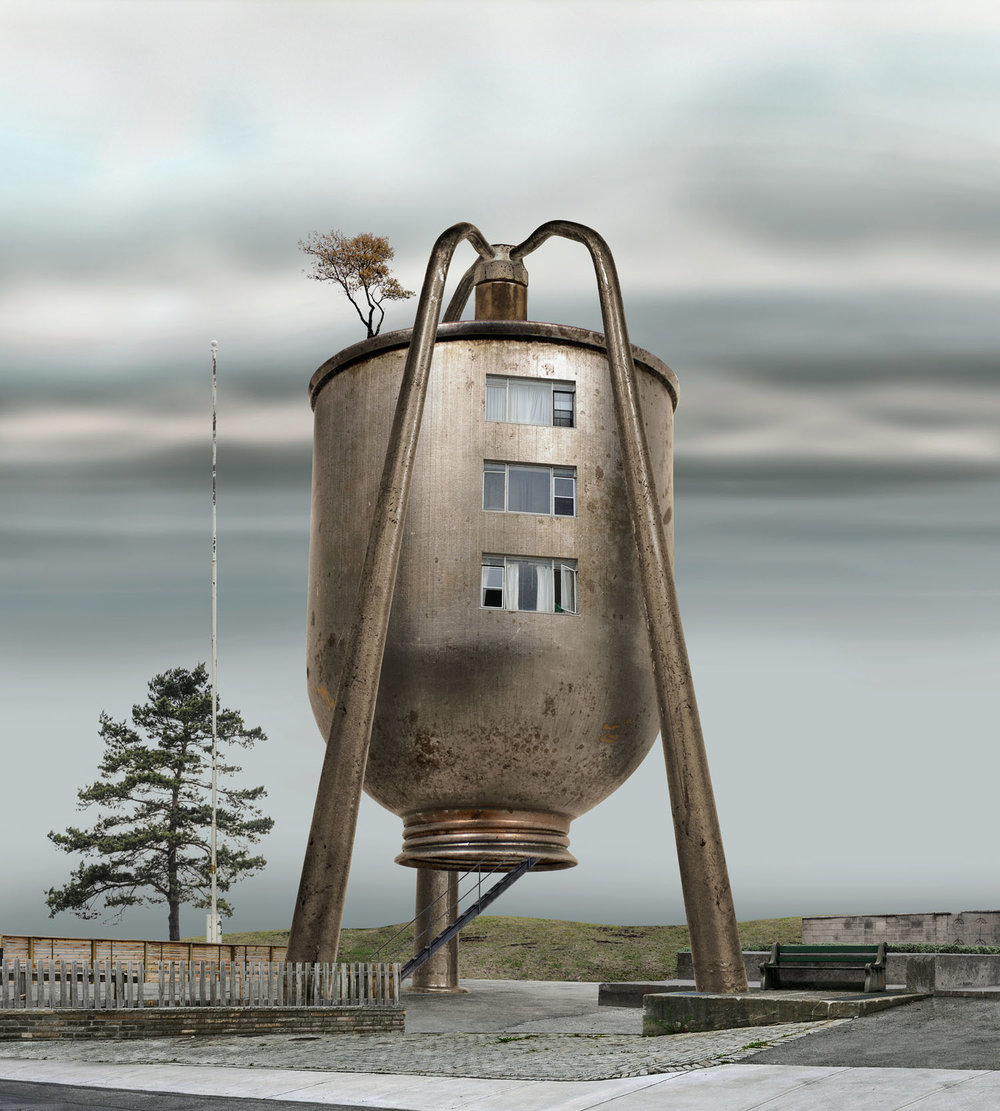 Oil Can Residence (2008)