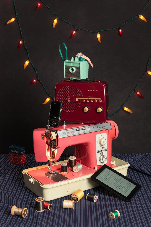 Pink Sewing Machine (2015)