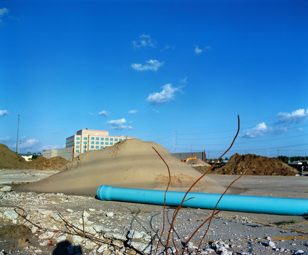Blue Pipe and Rebar (2000)