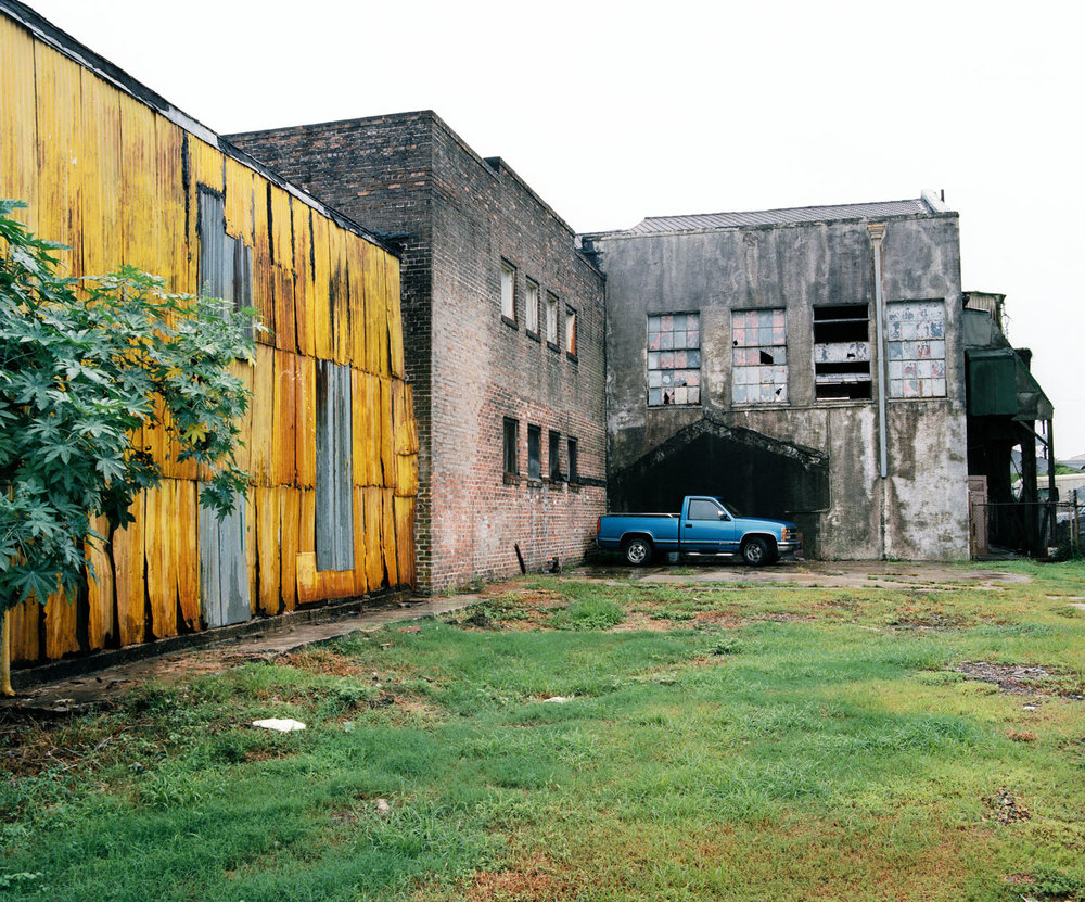 Blue Pickup Near Mag Street (1998)
