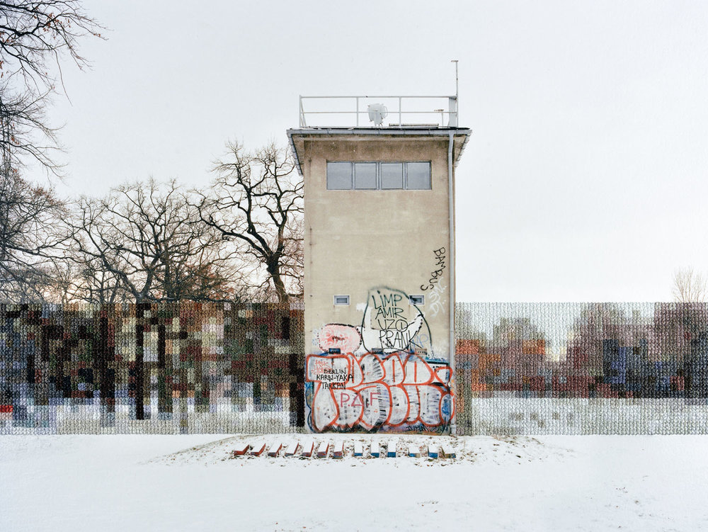 Former Guard Tower Off Puschkinallee (2013)