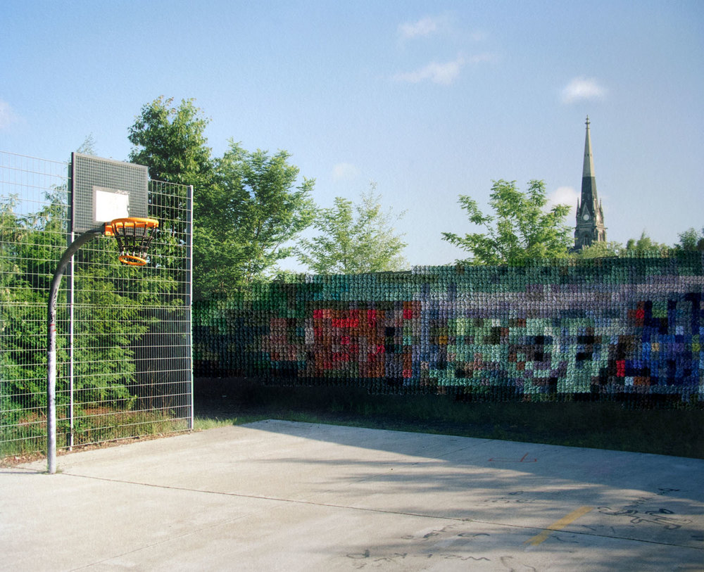 Basketball Court, Park am Nordbahnhof (2013)