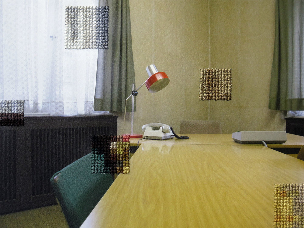 Interrogation Room of the State Secret Police, Hohenschoenhausen (2014)