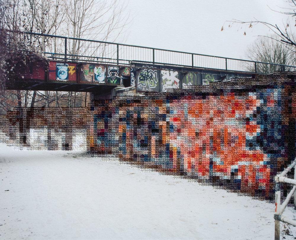 Former Wall Area, Leandwehrkanal (2014)