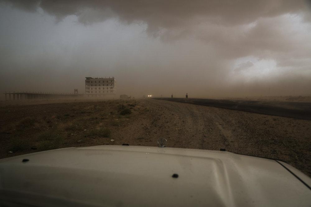 Desert Road Sandstorm, 2017