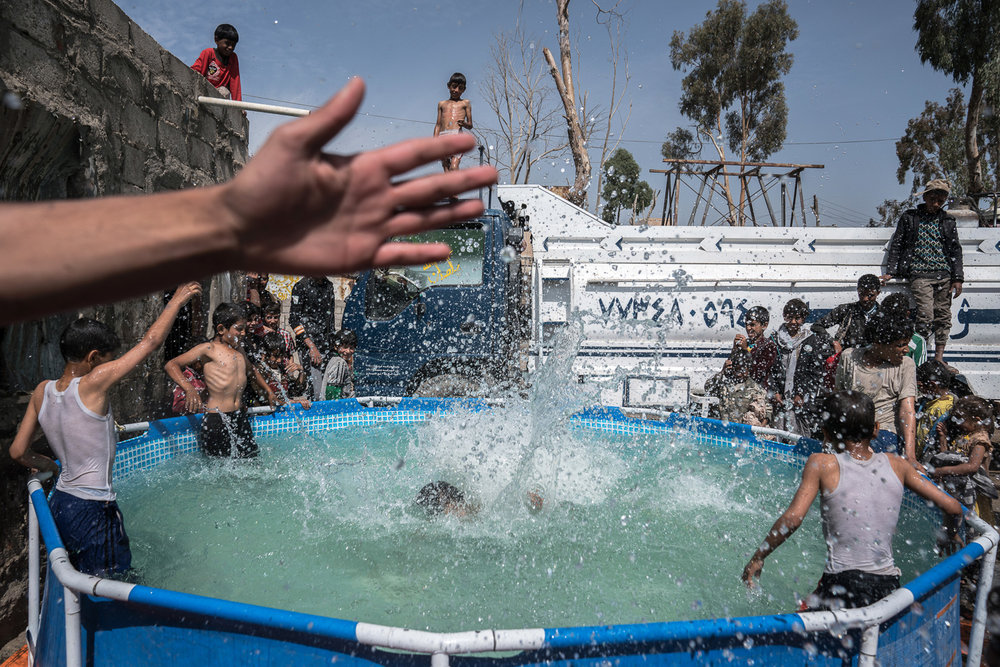 Sana'a Slum Swimming Pool, 2017
