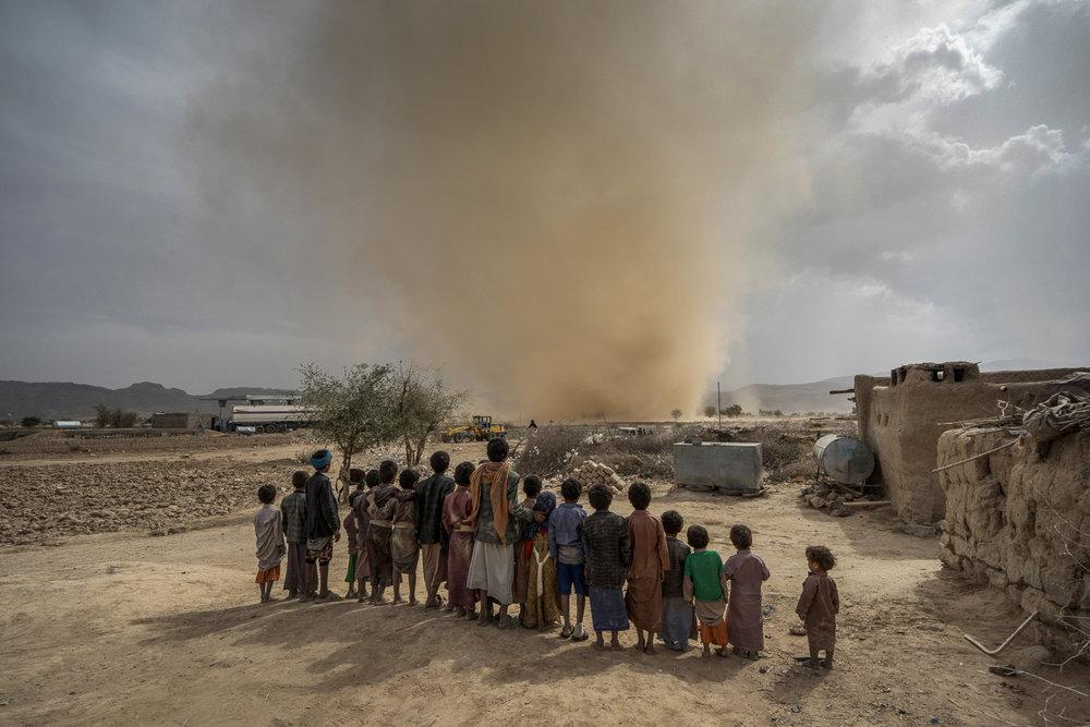 Yemen Sand Tornado, 2017