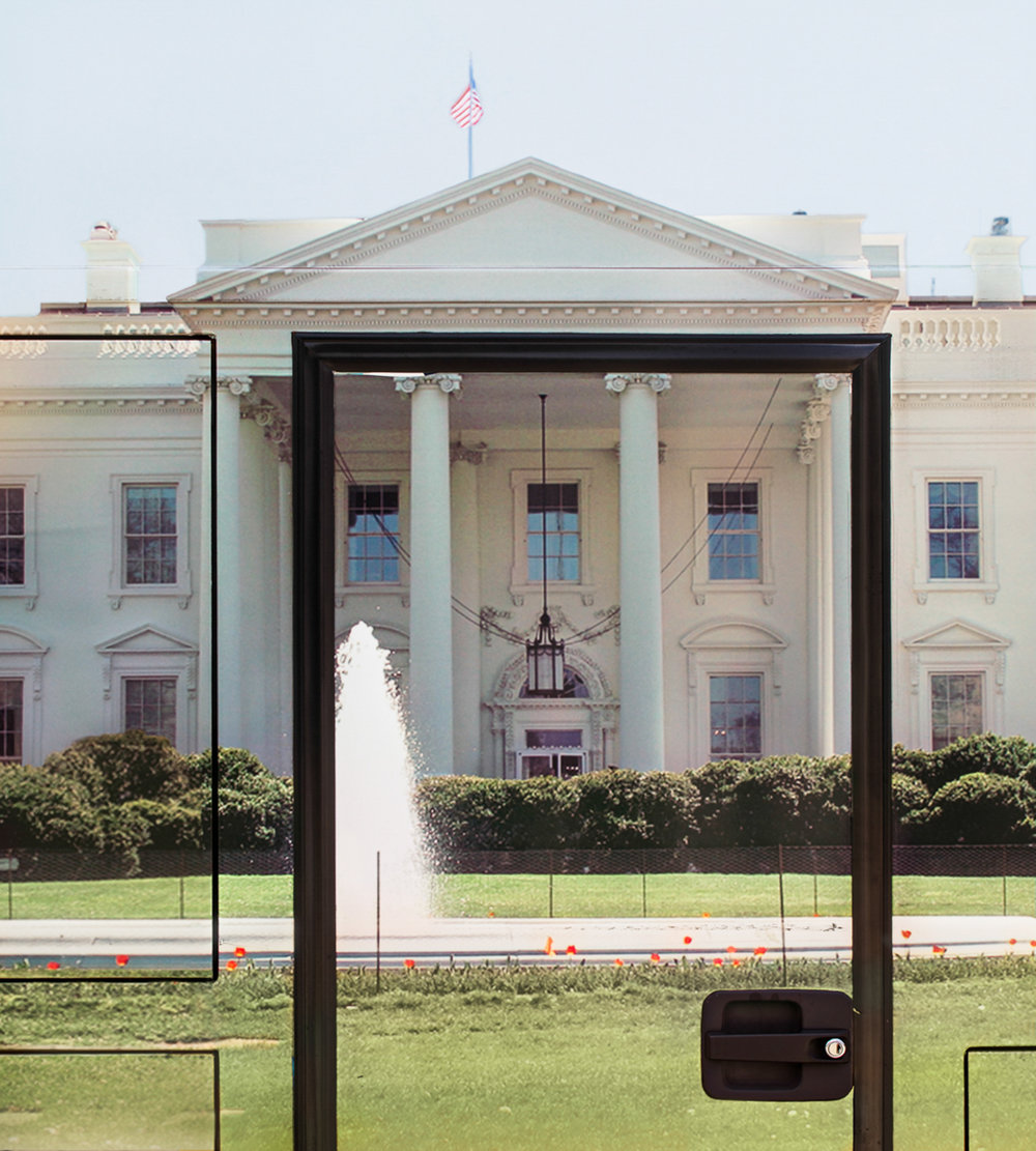 Treachery of Images: The White House #0635, 2016