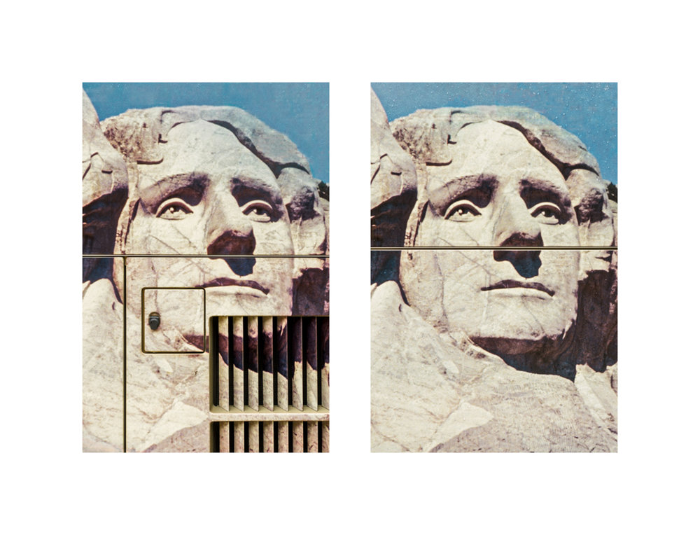 Treachery of Images: Thomas Jefferson @ Mount Rushmore, 2016