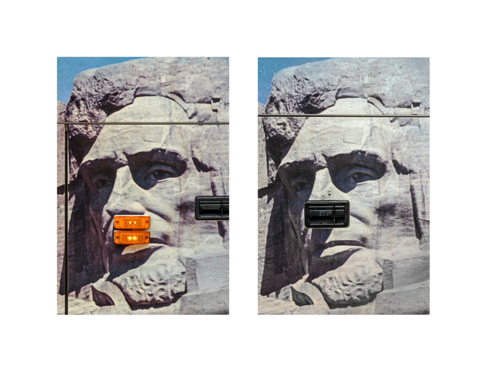 Treachery of Images: Abraham Lincoln @ Mount Rushmore, 2016