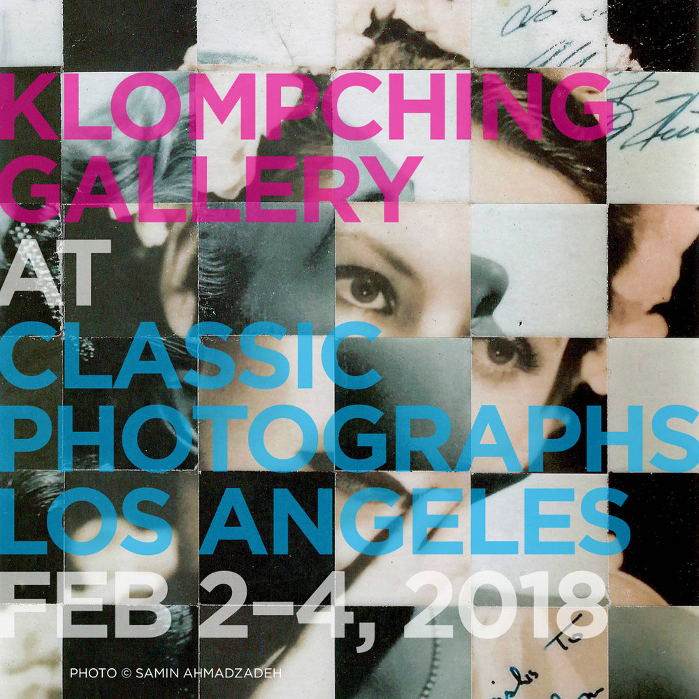 CLASSIC PHOTOGRAPHS LOS ANGELES ART FAIR February 2 – 4, 2018