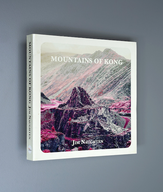 An image of the Mountains of Kong book cover by Jim Naughten.
