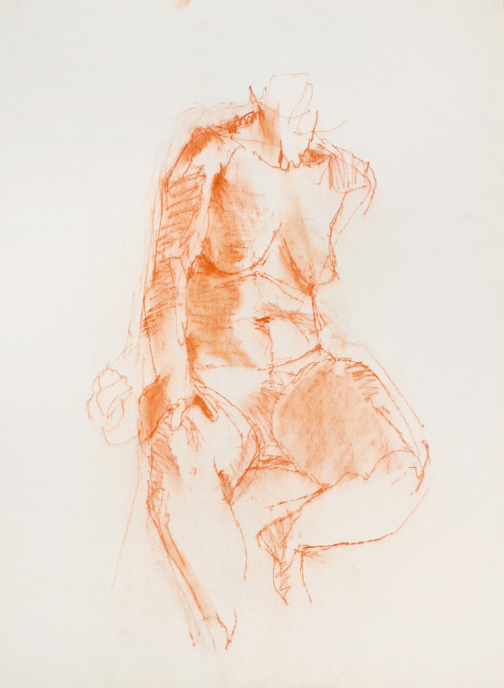 1980s_Seated_Nude_with_Bent_Legs_and_Hand_on_Left_Thigh_red_conte_on_paper_30x22in_WPF478.jpg