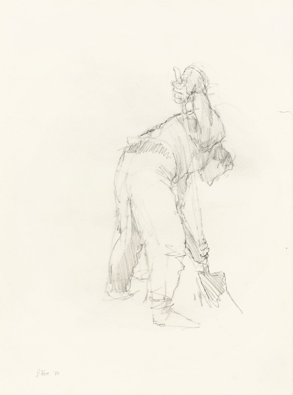 1986_Digger_with_Shovel_pencil_on_paper_15x11in_WPF402.jpg