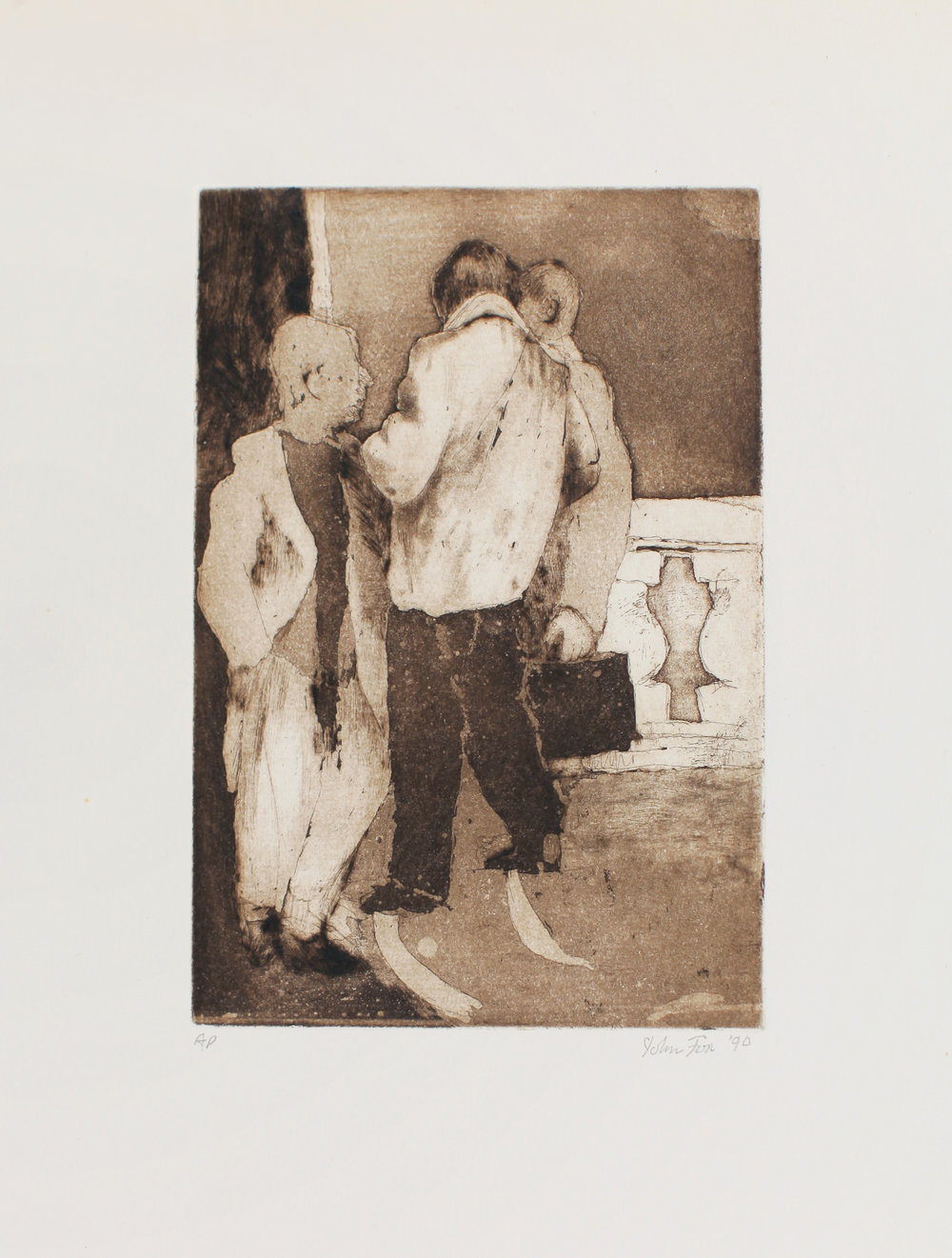 1990_Three_Men_etching_drypoint_and_aquatint_on_paper_20x14in_image_9x6in_WPF436.jpg
