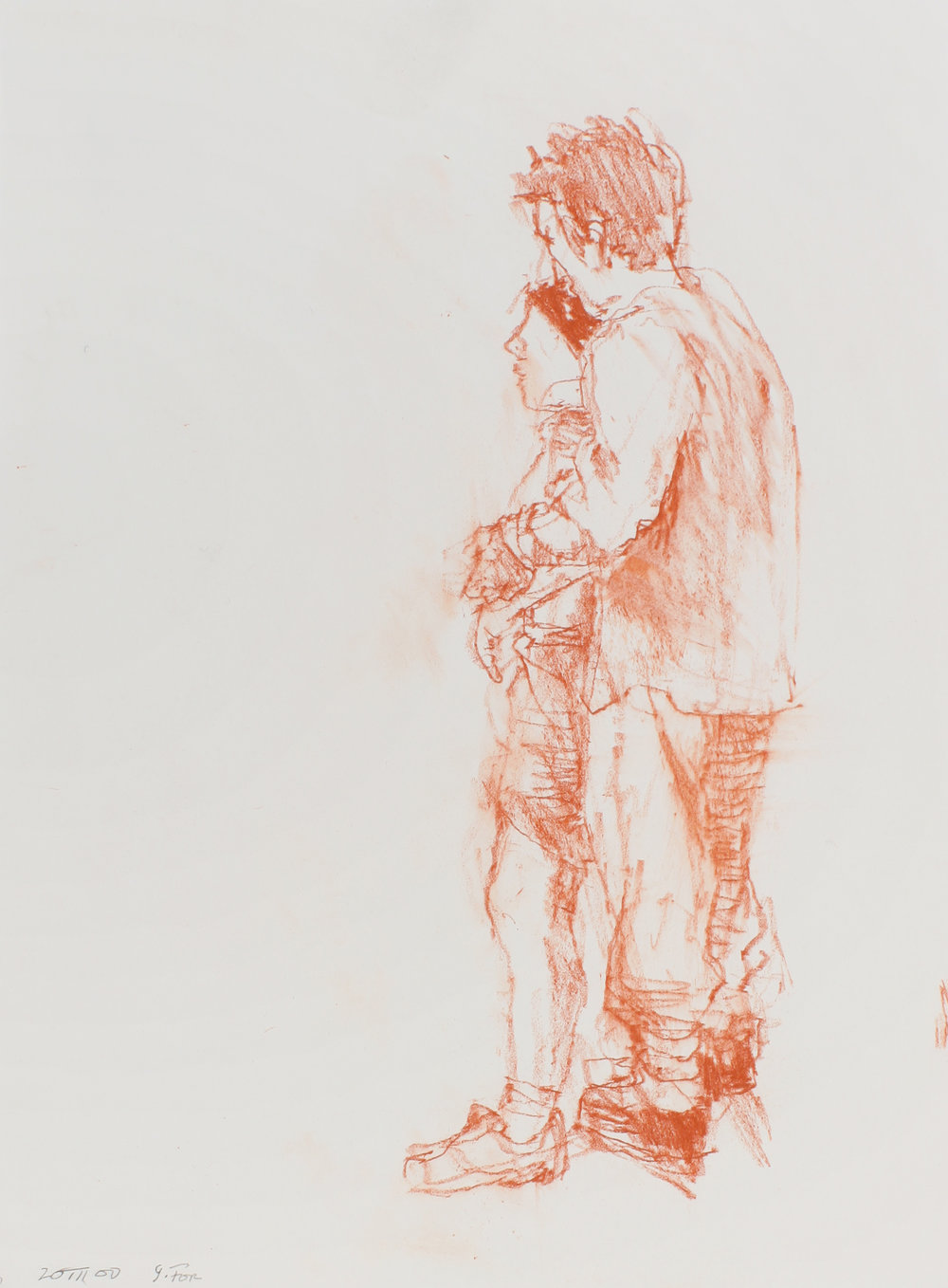 2000_Couple_Standing_Together_red_conté_on_paper_15x11in_WPF534.jpg