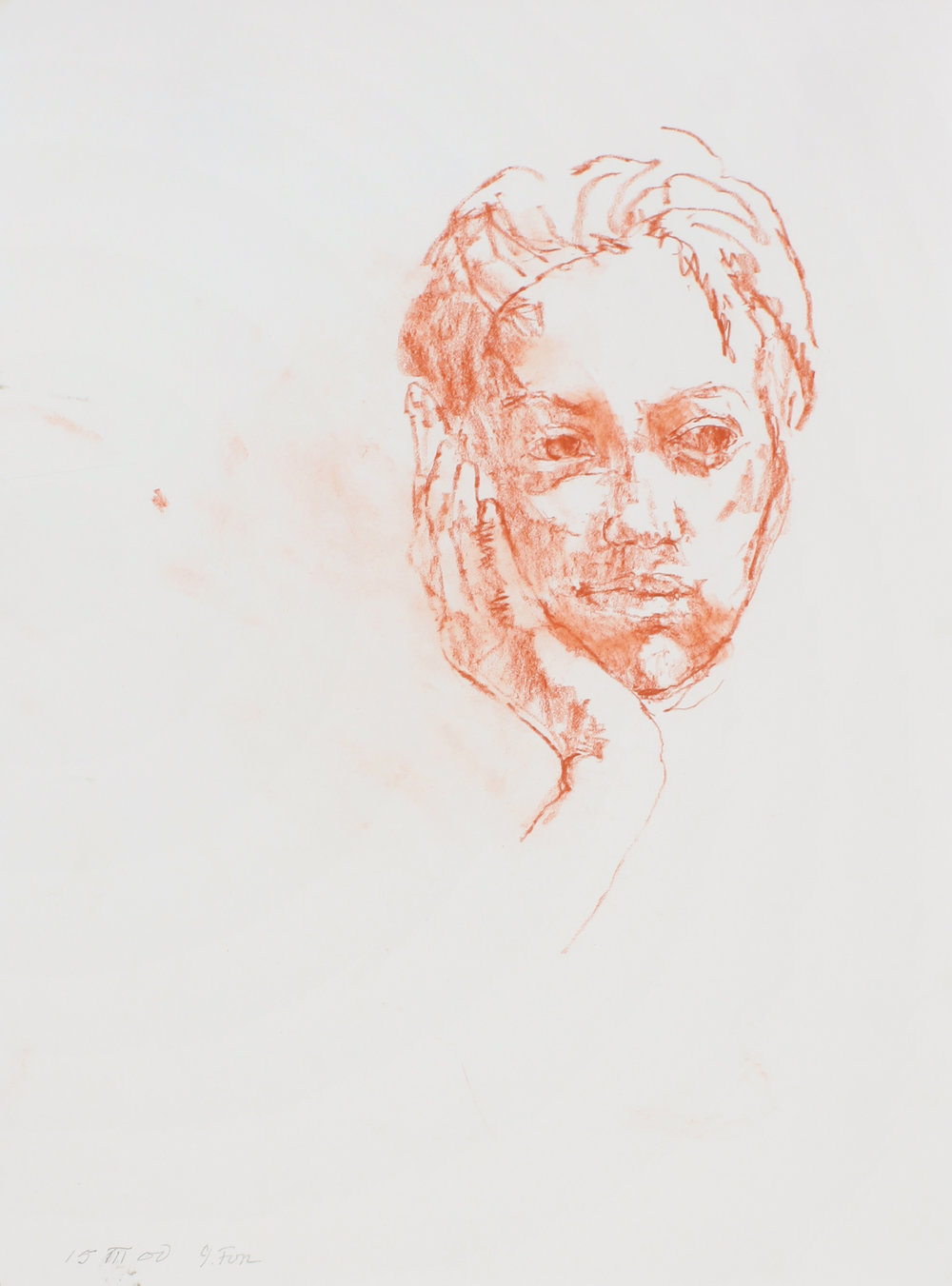 2000_Portrait_of_a_Woman_red_conté_on_paper_15_15x11in_WPF140.jpg