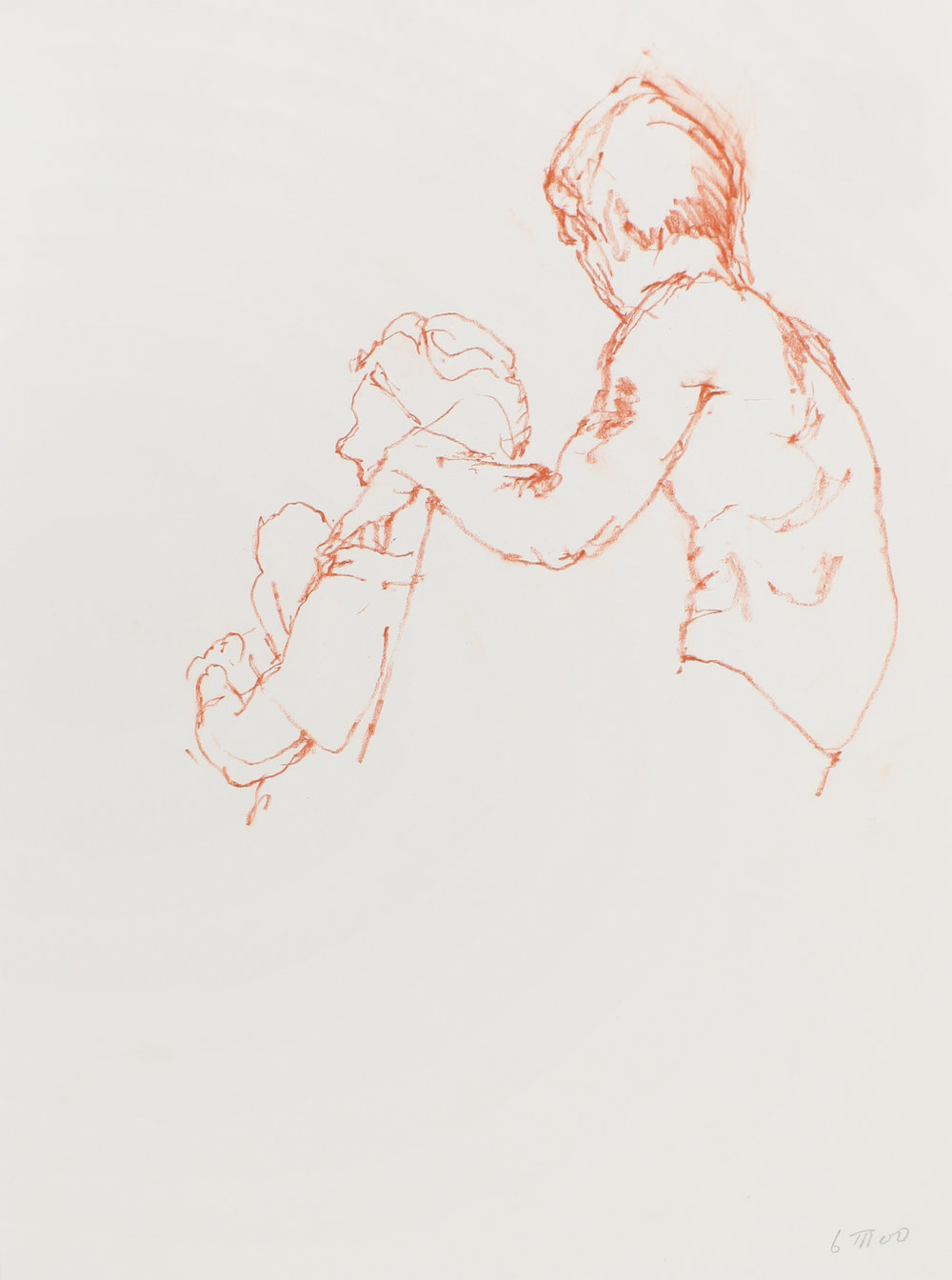 2000_Seated_Couple_with_Outline_of_Chair_red_conte_on_paper_15x11in_WPF526.jpg