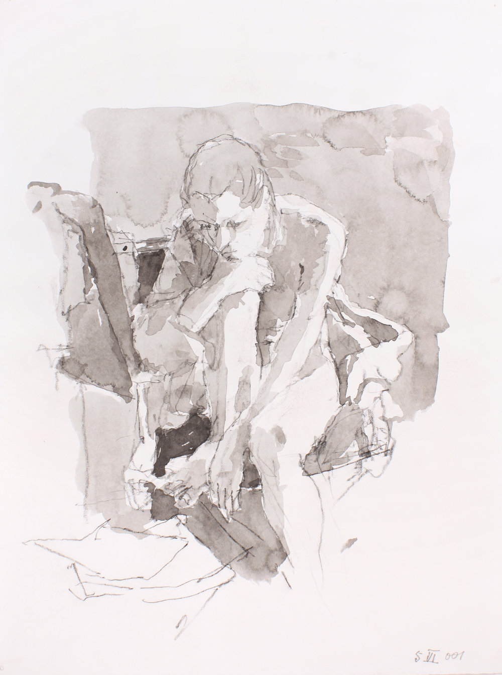 2001_Crouched_Nude_watercolour_and_conté_on_paper_15x11in_WPF193.jpg