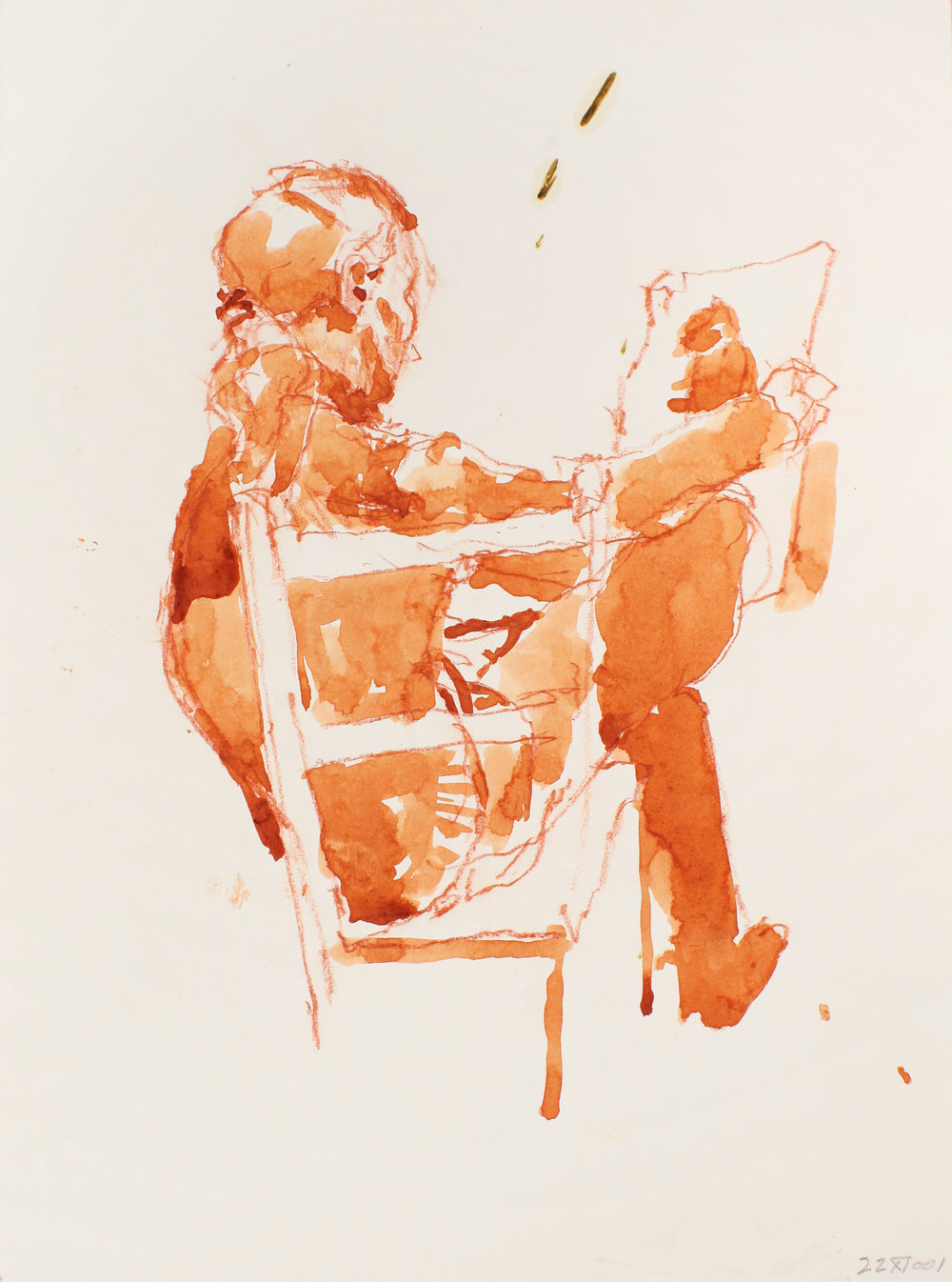 2001_Figure_Holdin_a_Drawing_red_conte_and_watercolour_on_paper_15x11in_38x28cm_WPF135.jpg