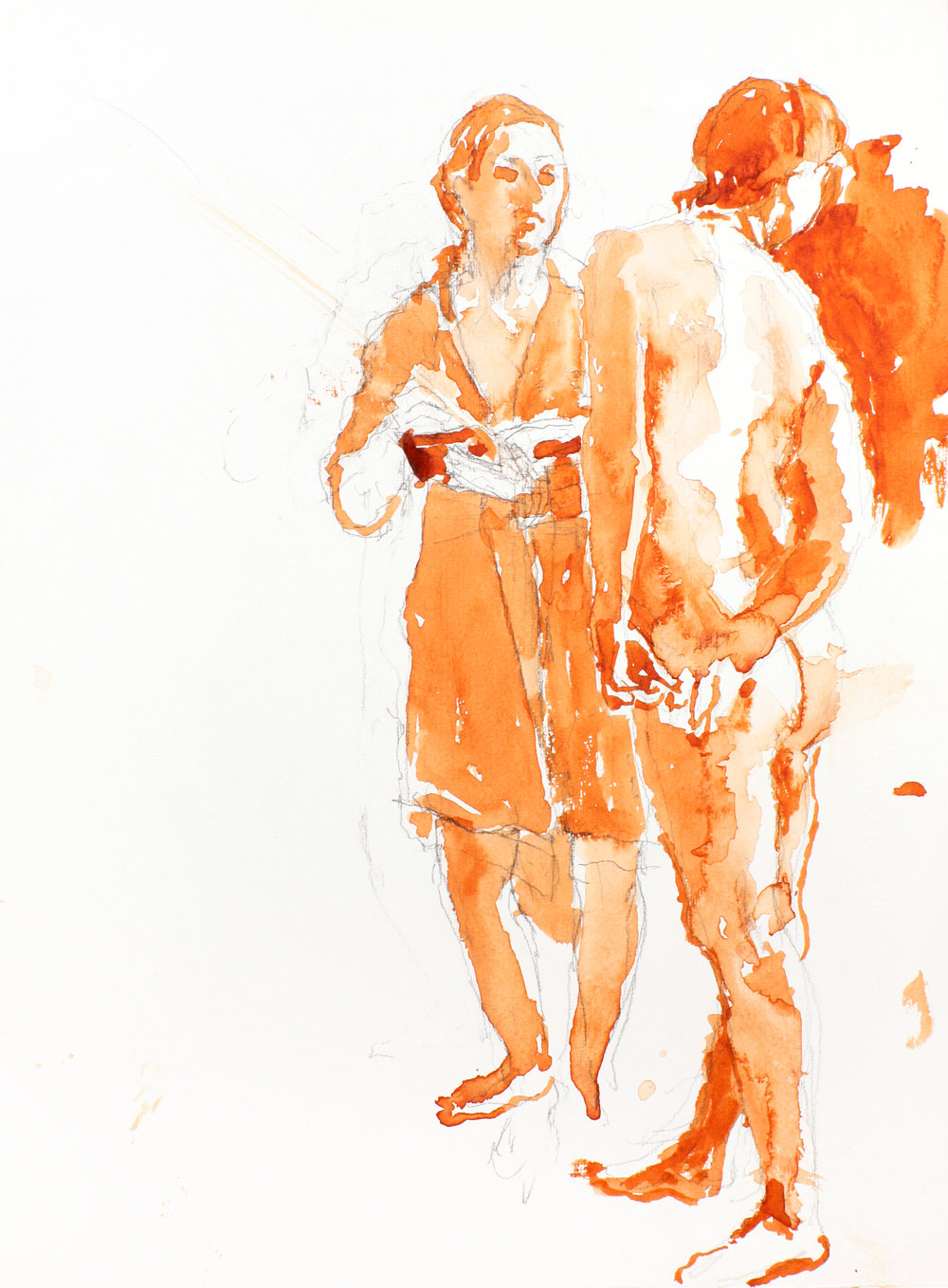 2003_Two_Figures_watercolour_on_pencil_15x11in_WPF225.jpg