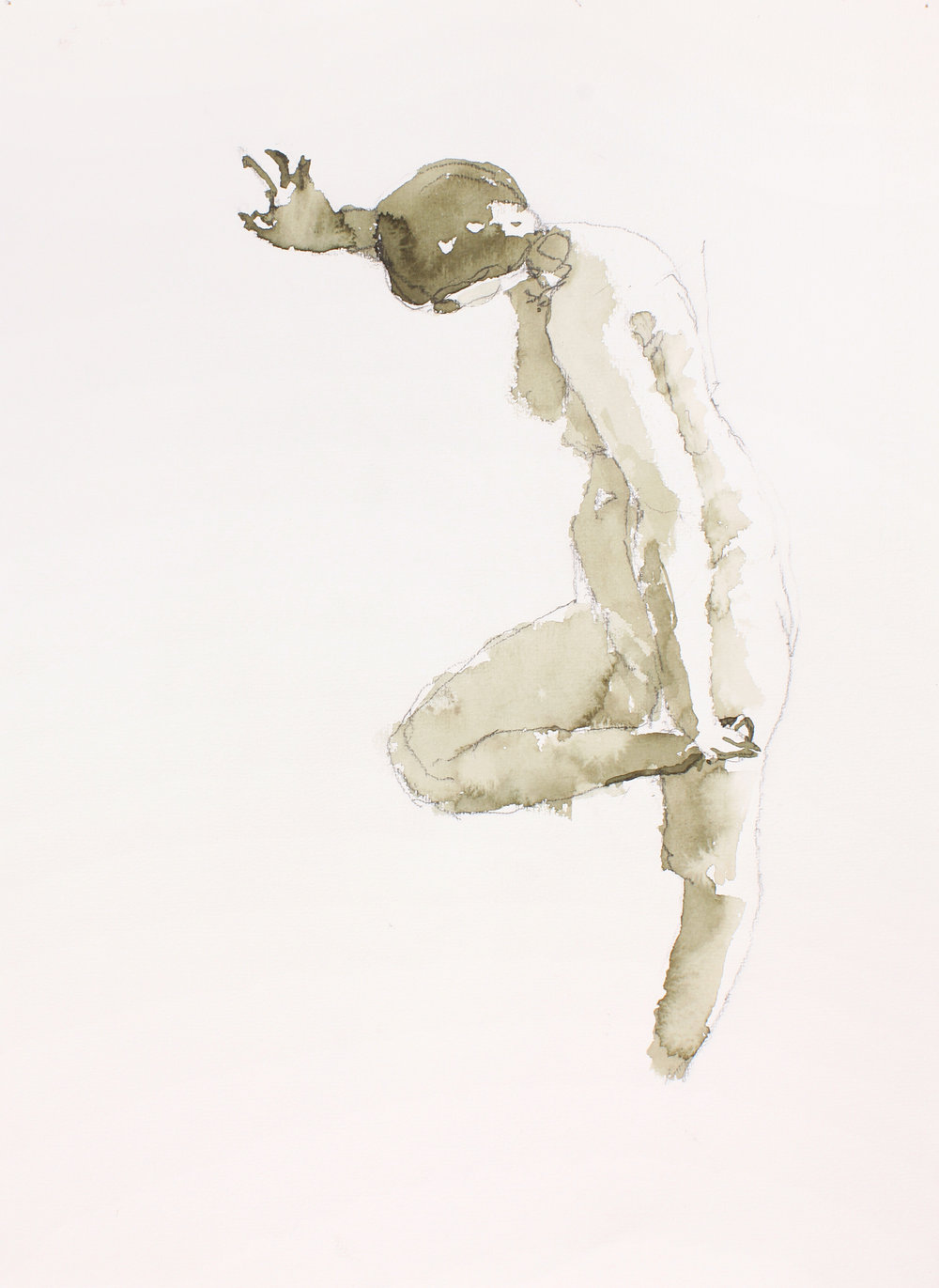 2004_Standing_Nude_Holding_Bent_Leg_watercolour_and_pencil_on_paper_15x11inches_WPF097.jpg