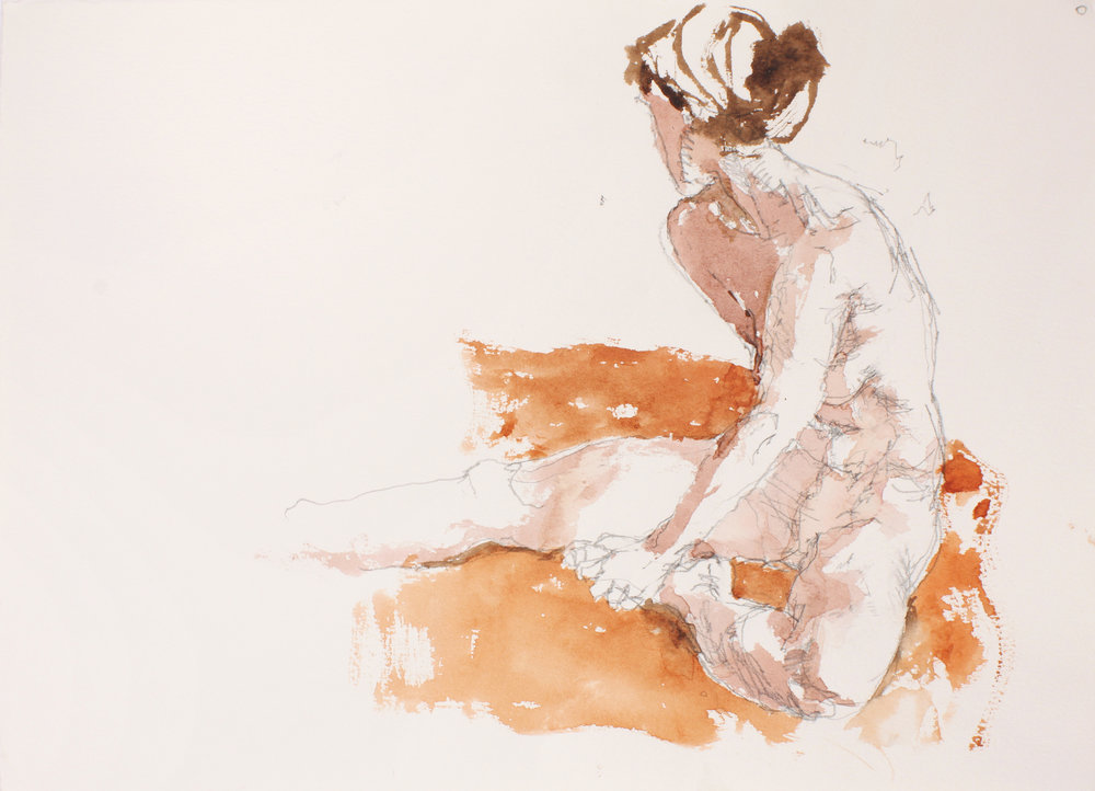 2007_Seated_Nude_with_Scarf_watercolour_and_pencil_on_paper_11x15in_WPF053.jpg