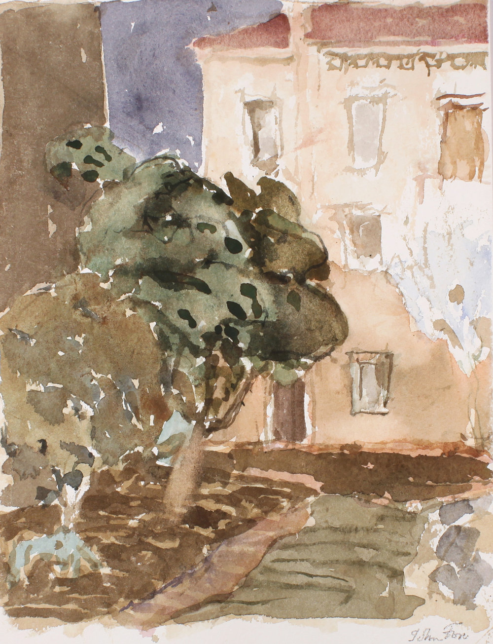 1996_House_with_Garden_watercolour_on_paper_10x8in_WPF324.jpg